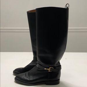 Nine West leather riding boots. Sz 8. VGUC.